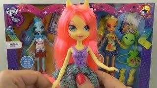 Лялька Флаттершай - розпакування та огляд Дівчата з Эквестрии / Equestria Girls