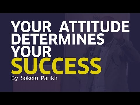 Attitude Determines Your Success | Soketu Parikh | Alan Scott Industries | Mumbai Startup Fest'17