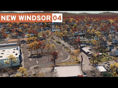 Sprawling Suburbs - Cities Skylines: New Windsor - Part 4 -