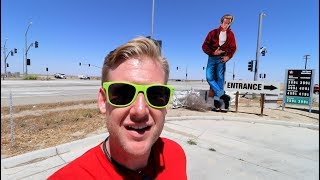 #651 JAMES DEAN's Last Ride and Stops : Blackwell's Corner and Crash Site Memorial (5/19/2018)
