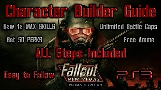 Fallout New Vegas ULTIMATE Edition PS3 Character Build Guide MAX SKILLS & 50 PERKS