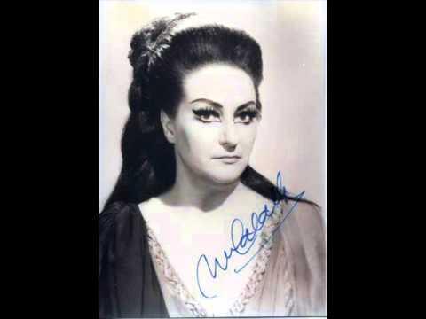 Montserrat caball sediziose voci casta diva norma - Vincenzo bellini casta diva ...