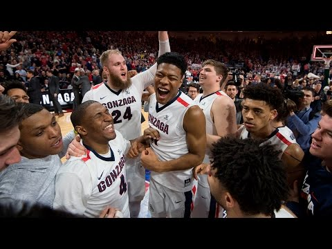 Gonzaga Wins 5th Straight #WCChoops Title