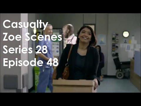 Casualty Zoe Scenes - Series 28 Episode 48