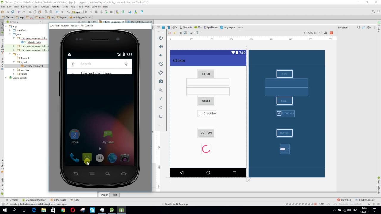 Android avd emulator
