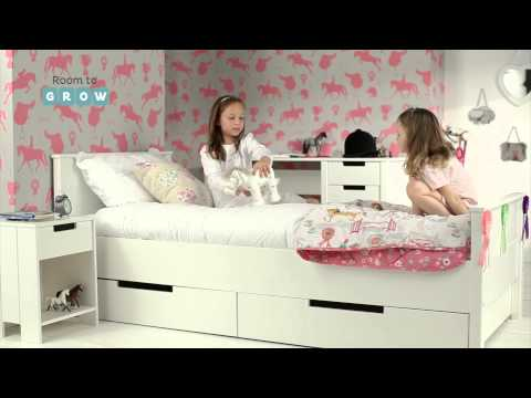 Mode - Maine Single White Bed - Room To Grow Beds