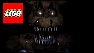How To Build: LEGO (Five Nights at Freddy's 4) Nightmare Freddy