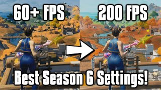 Fortnite Season 6 Settings Guide! - FPS Boost, Colorblind Modes, & More!