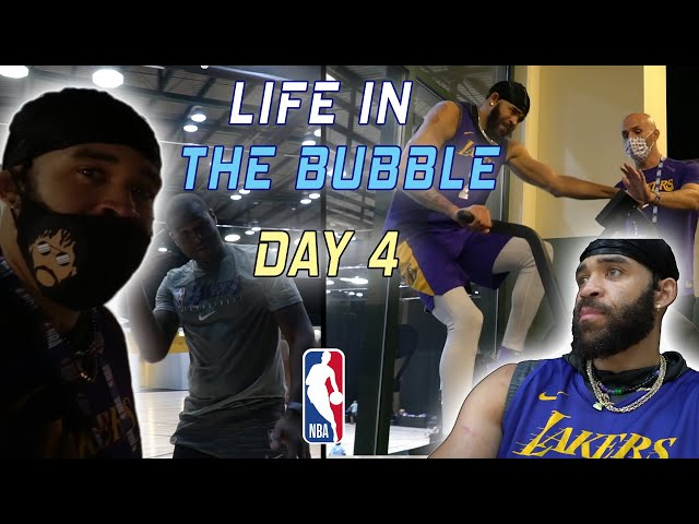 Life in the Bubble - Day 4 | JaVale McGee Vlogs - JaVale McGee