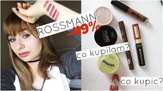 ROSSMANN -49% | Co kupiłam & co kupić?