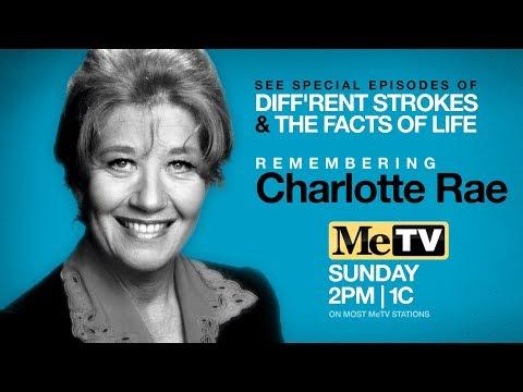 Remembering Charlotte Rae on MeTV