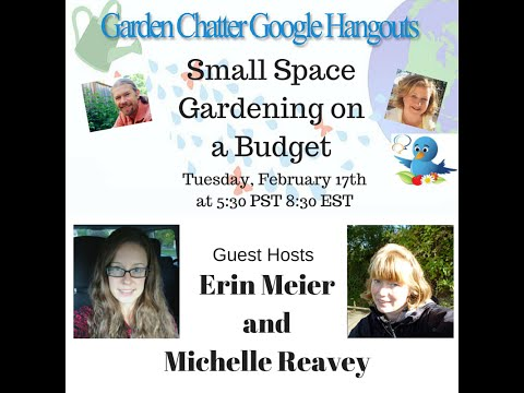 Small Space Gardening on a Budget   Garden Chatter #18