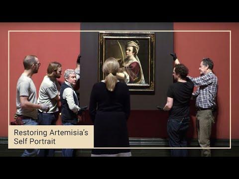 Artemisia Gentileschi's 'Self Portrait' goes on display | National Gallery