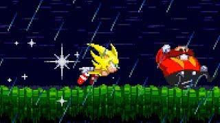 Sonic Triple Trouble 16-Bit (First Public Demo) | Sonic Fan Games ❄ Walkthrough