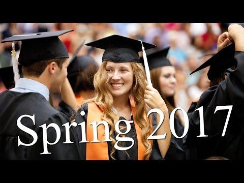 Spring 2017 Graduation Ceremony - 1pm Ceremony