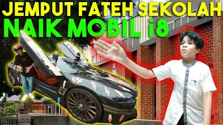 ATTA Jemput Fateh Sekolah PERTAMA Kali pake MOBIL i8.RUSUH!