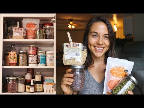 Whats in my VEGAN PANTRY! (Updated Tour)
