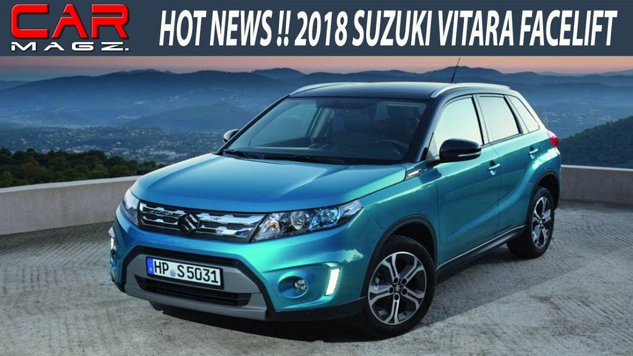 2018 Suzuki Vitara Facelift Price and Review - YouTube