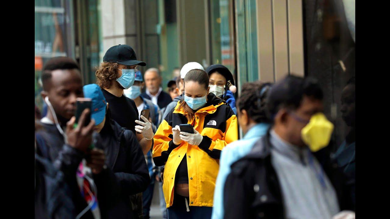 В США ЗАРАЖЕННЫХ ПЕРЕВАЛИЛО ЗА 700 000 / В ИСПАНИИ БОЛЬШЕЕ 20 000 смертей / Coronavirus , Covid-19