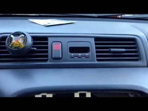 2001 Honda CRV Clock Fix
