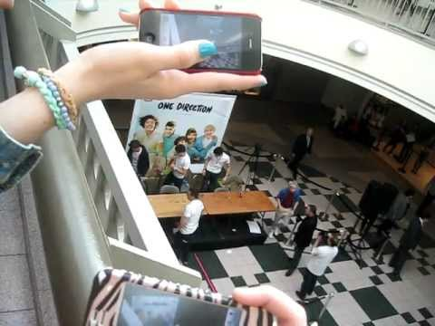 One Direction at Westfield Sunrise Mall Signing-NY 3/11/12 ...