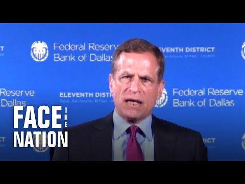 Dallas Fed president sees high unemployment rate through end of the year