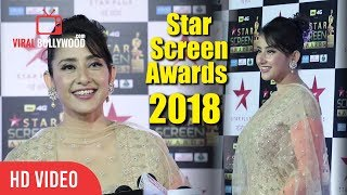 Manisha Koirala At Star Screen Awards 2018 | Star Plus Awards Show 2018