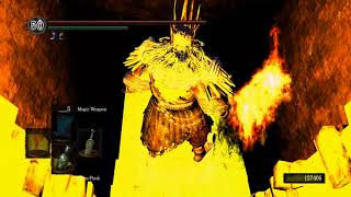 Dark Souls Gwyn vs Artorias and Manus - Playing as the King of the Gods - Full Playthrough