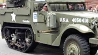 M16 Halftrack  Four 50cal Browning M2Machine Guns Quadmount gun turret