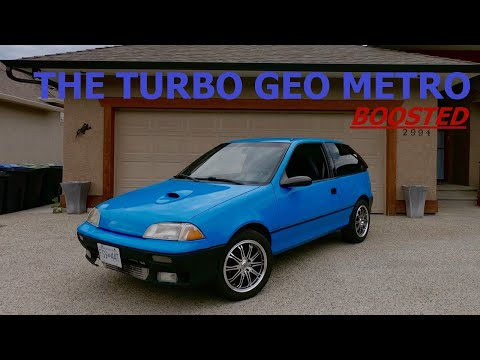 Turbo Geo Metro Rebuilt | Boosted Geo Metro Intro Backstory