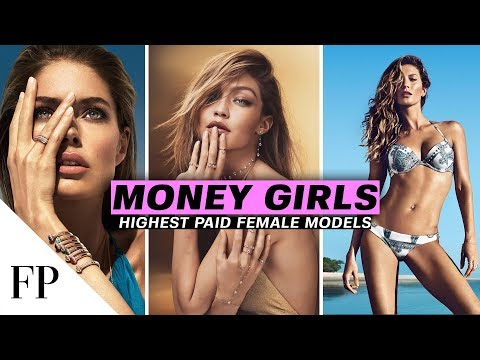 Top 10 Highest Paid FEMALE MODELS