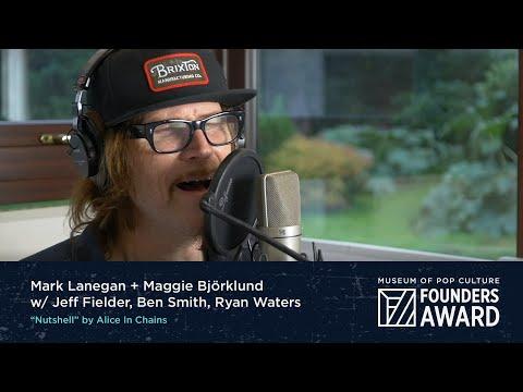 "Mark Lanegan & Maggie Björklund - ""Nutshell"" by Alice In Chains   MoPOP Founders Award 2020"