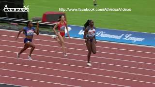 Shelly-Ann Fraser Pryce monstrous comeback, 4x100m London 2019