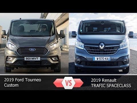 Форд Торнео  2019 Vs  Рено Трафик 2019 || 2019 Ford Tourneo Vs  Renault TRAFIC 2019