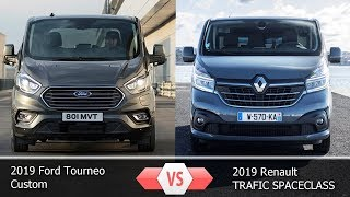 Форд Торнео  2019 vs  Рено Трафик 2019 || 2019 Ford Tourneo vs  Renault TRAFIC 2019