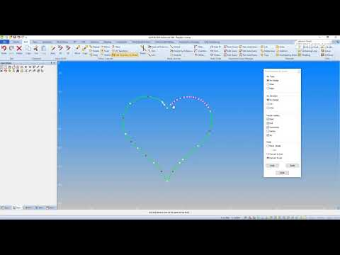 ALPHACAM Tech Tip - Edit Geometry by Node