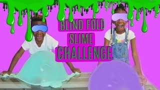 Blindfolded Slime Challenge Sis Vs Bro
