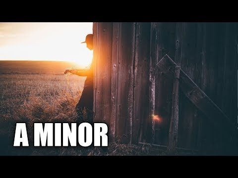 Soft Acoustic Guitar Backing Track In A Minor | Summer Days