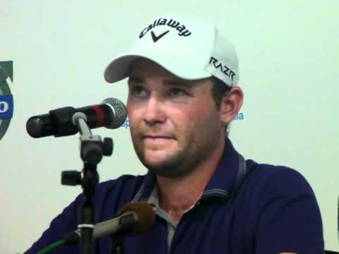 Branden Grace interview Volvo Golf Champions winner.
