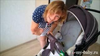 Коляска Tutis Zippy (3 в 1) — часть 2: сборка. Видео-обзор от Регины