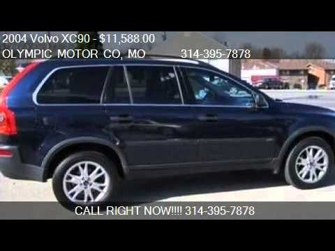 2004 Volvo Xc90 T6 Awd 1 Owner For Sale In Florissant