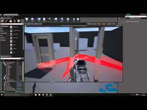 Ue4 blueprint tutorial door part 02 looking at text display ue4 blueprint tutorial door part 02 looking at text display malvernweather Choice Image