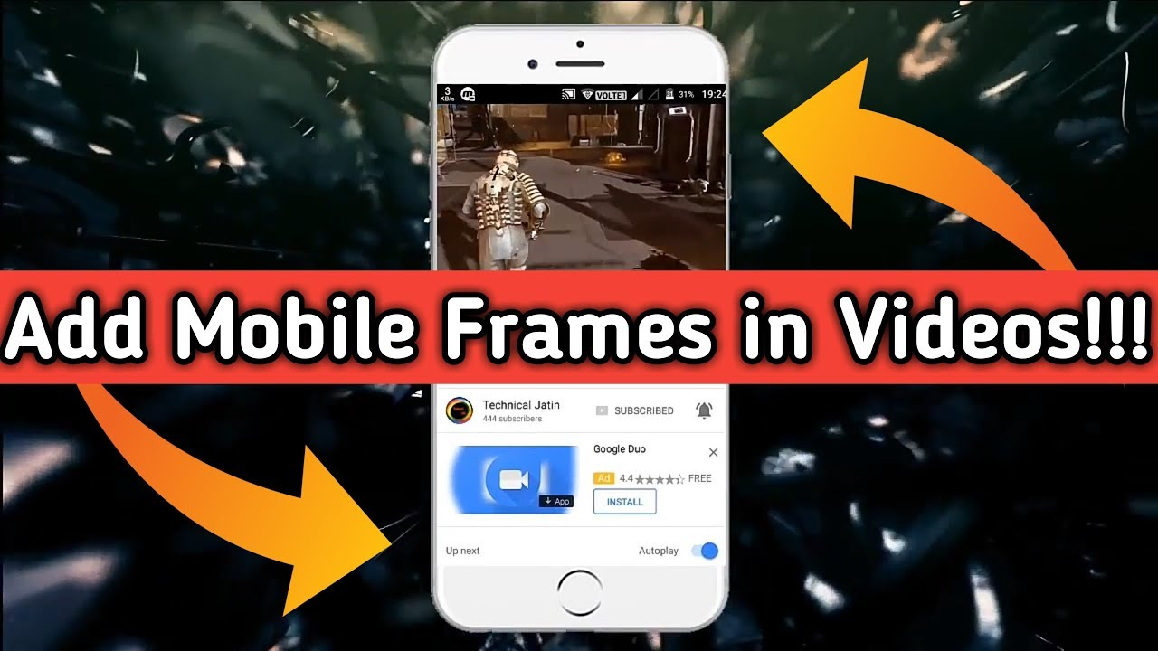 How To Add Frame in Video | How To Add Video in Frame | Add Frames ...