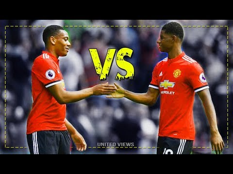 Marcus Rashford vs Anthony Martial - Battle for 1st place ~ Manchester  United |HD