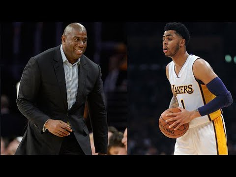 Lakers TRADE D'Angelo Russell to Brooklyn, Old Magic Johnson Tweets Re-Surface