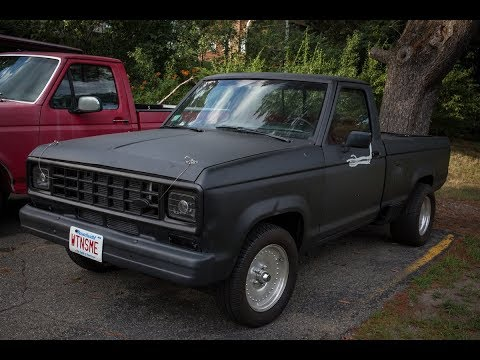 1983 Ford Ranger V8 swap start up and idle