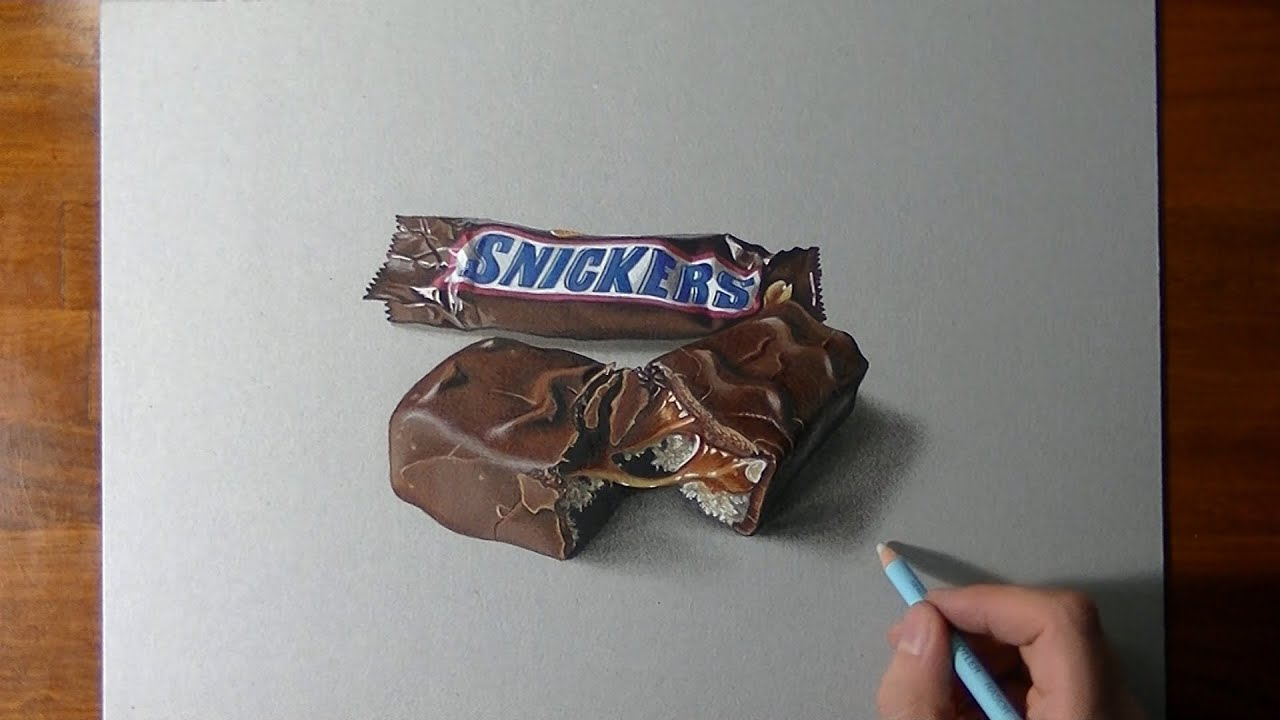 Uncategorized How To Draw Candy Bars how to draw a snickers bar youtube