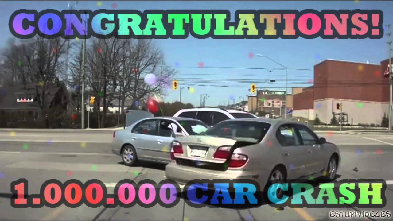 maxresdefault congratulations! you are the 1 000 000 car crash!!! youtube