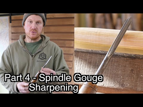 How To Sharpen Chisels - The Spindle Gouge