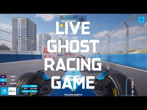 Formula E Live Ghost Racing Game - ABB FIA Formula E Championship